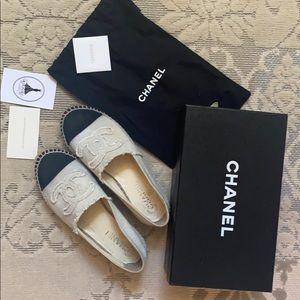 Chanel Canvas Espadrilles